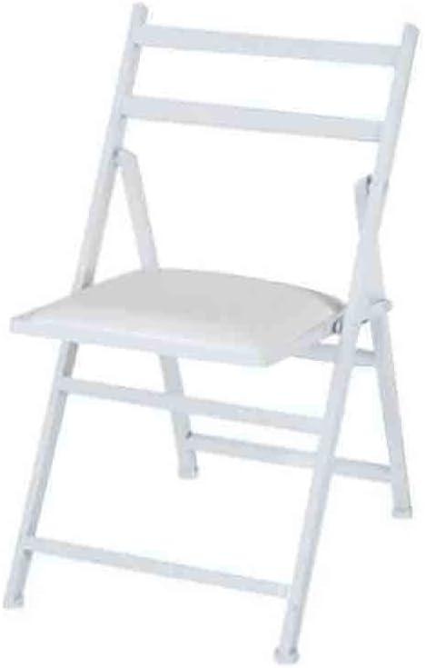 YCSD Elegant Modern Minimalist Miami Mall Dining Chair Backre Iron Foldable Wrought