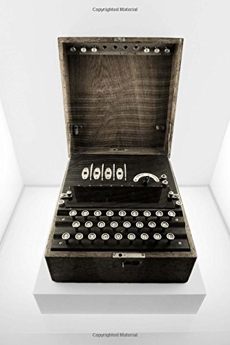 Enigma Rotor-Key Machine Journal: 150 Page Lined Notebook/Diary