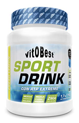 SPORT DRINK+ ATP EXTREME LIMON 750 g - Suplementos Alimentación y Suplementos Deportivos - Vitobest