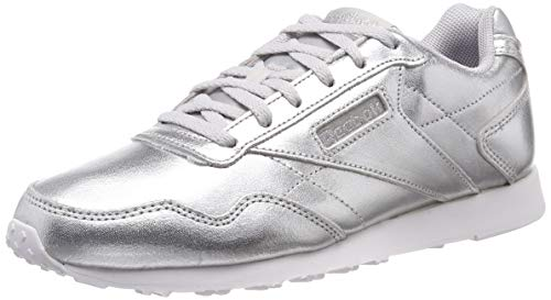 Reebok Damen Royal Glide Lx Fitnessschuhe, Mehrfarbig (Silver Metallic/White 000), 40 EU