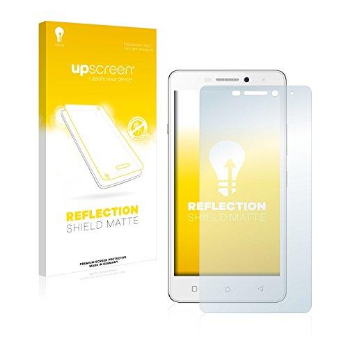upscreen Entspiegelungs-Schutzfolie kompatibel mit Lenovo Vibe P1m – Anti-Reflex Bildschirmschutz-Folie Matt