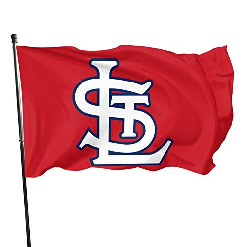 St-Louis-Cardinal&s Flag 3x5 ft Banner Flags Decorative for OutdoorGarden Flag Polyester Fabric Fade Resistant