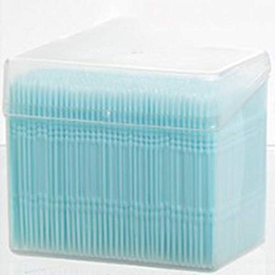 スロットカセット不公平1100ピース/セットダブルヘッド使い捨て歯フロス衛生デンタルフロス歯間つまようじ健康用歯のクリーニングオーラルケア