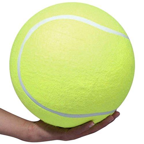 Ardisle XXXL Hundetennisball-Hundespielzeug Puppy Training Exercise Riesen Jumbo 24cm Neuheit