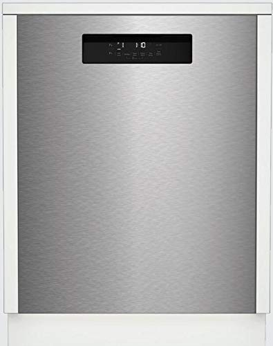 Blomberg DWT52600SSIH 24 Inch Built In Full Console Dishwasher in Fingerprint Free Stainless Steel