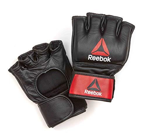Reebok RSCB-10320RDBK, Guanto da Boxe in Pelle MMA Fitness, Multicolore, Medium