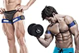 BFR Bands Occlusion Training Bands, PRO, 1 Set of Bands, Works For Arms OR Legs, Blood Flow...