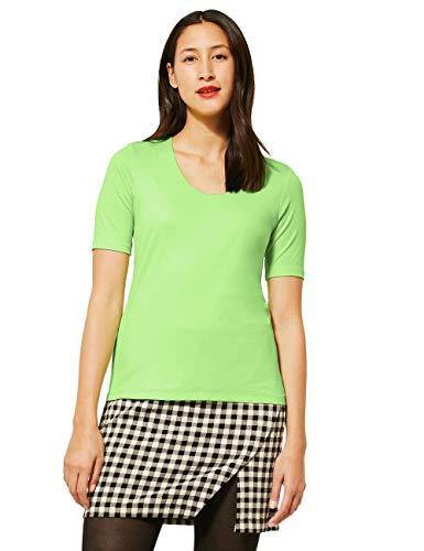 Street One Damen Style Palmira T-Shirt, Sunny Lime, 42