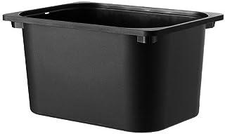IKEA TROFAST 収納ボックス  ブラック 90252574