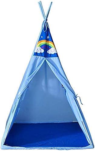 Dongyd Outdoor Camping Spielplatz Kinderspielzelt Indoor Kinderspielhaus (Farbe  Blau)
