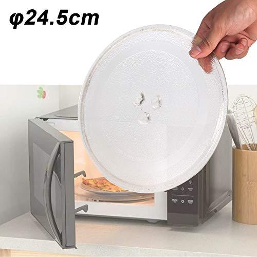 Allright 24,5cm Ersatz Drehteller GlastellerTransparent Microwellen Mikrowellenteller