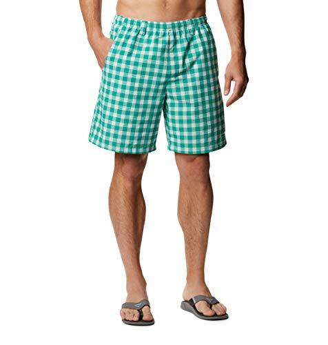 Columbia PFG - Pantalones Cortos de Agua para Hombre, Secado rápido, protección Solar