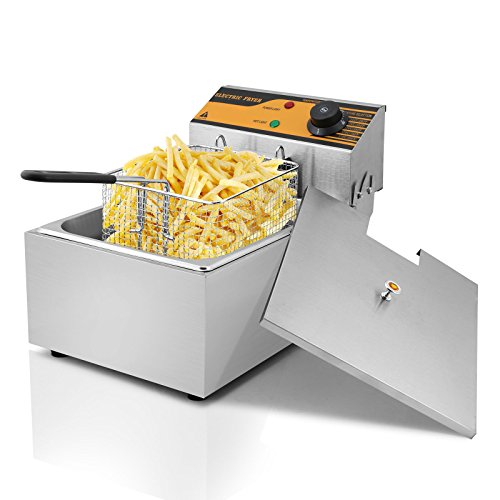 HPcutter Friggitrice Friggitrice Elettrica Deep Fryer Commercial Deep Fryer Stainless Steel French Fry