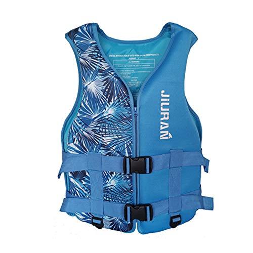 Bolange Chaleco Salvavidas, Chaleco de Ayuda a la flotabilidad Chaleco Salvavidas de Neopreno para natación para niños y Adultos, Chaleco Flotador para Kayak Pesca Surf Buceo Deporte acuático