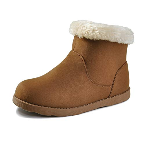 Brown Kids Boots