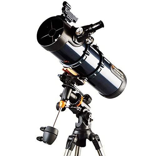 HZWLF Fernglas Spektive, Teleskope Brennweite 650Mm Für Kinder Erwachsene Astronomie Anfänger Refraktor Für Astronomie Reisen Mit Stativ
