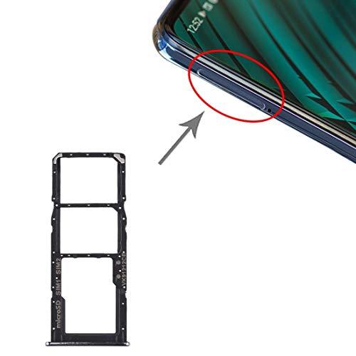 Tangyongjiao Accesorio de Repuesto La Bandeja de Tarjeta SD Bandeja de Tarjeta SIM Bandeja de Tarjeta SIM Micro for Samsung Galaxy A51 / A515 (Color : Rosado)
