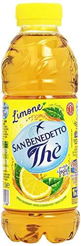 12 x San benedetto té helado limón limón El PET 50 cl té refrescante bebida refrescante
