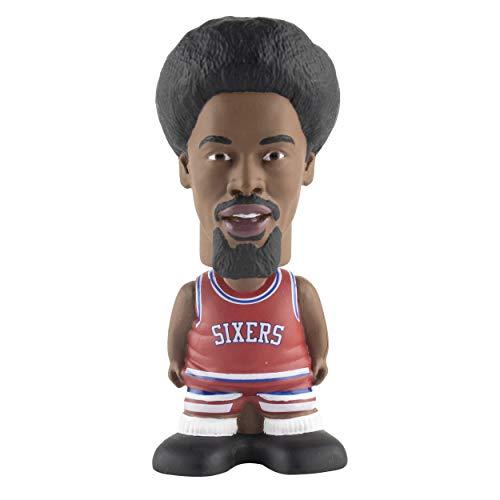 Maccabi Art Julius Dr. J Erving Philadelphia 76ers Sportzies, NBA Legends Action Figure, Toy Minifigure, Collectible Figurine - Great Gift for Basketball Sports Fans