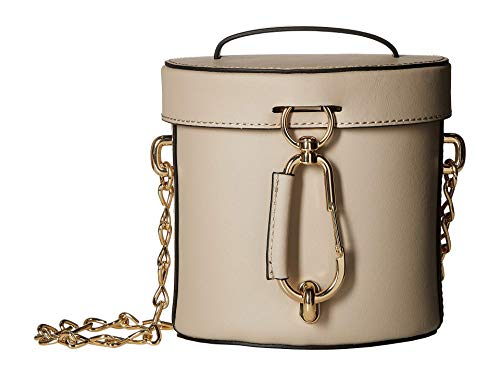 Embrace a day experiencing new adventures carrying the ZAC Zac Posen™ Belay Mini Top-Handle Canteen Bag. Handbag made from genuine, 100% leather. Top leather fold-over flap with lobster clasp closure and wrapped top flat carry handle. Adjustable leat...
