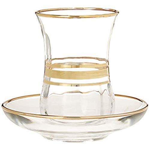 Copas De Champán, Tazas, Regalos Taza De Té Roja Vintage 115Ml Vaso De Chupito De Whisky Clásico Con Cuchara De Plato Taza De Café Arte Abstracto Vodka Copa De Vino Sin Tallo