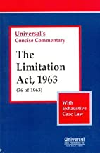 The Limitation Act, 1963: (36 of 1963) (with Exhaustive Case Law)
