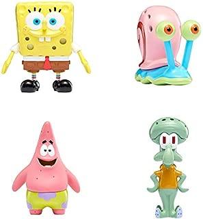 "SpongeBob SquarePants, Slimeez, +2"" Collectible Figures with Nickelodeon Slime, Includes Gary, Patrick, Squidward"
