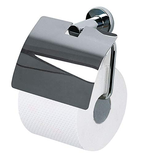 """Spirella WC Rollenhalter """"Atlantic"""" 10.06424 Edelstahl Toilettenpapierhalter zum kleben oder bohren"""