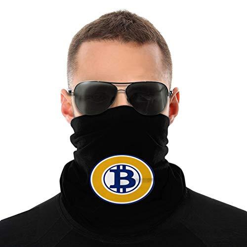BitcoinLogos - Bufanda cálida para hombres y mujeres para adultos pasamontañas ligero para hombres 20 * 10 Pulgadas