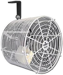 """SCHAEFER VK12-CK Cattle Kooler Circulation Fan, Cord, Special Mount, Blade Material: Aluminum, 1/10 hp, 12"""""""