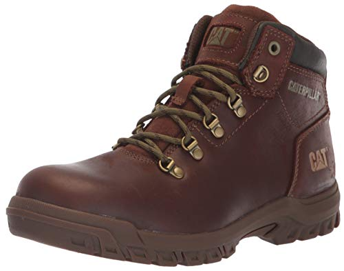 Caterpillar womens Mae Wp Construction Boot, Cocoa, 7.5 US