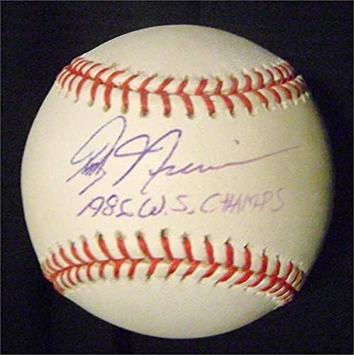 Autograph Warehouse 626956 Randy - Niemann Colorado Springs Mall Sale special price Autographed Baseball