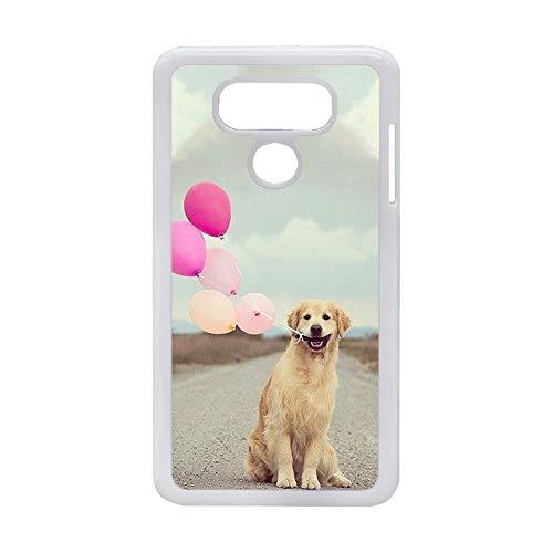 Generic Tiene Golden Retriever 6 compatible con LG G6 para hombres, carcasa de plástico duro