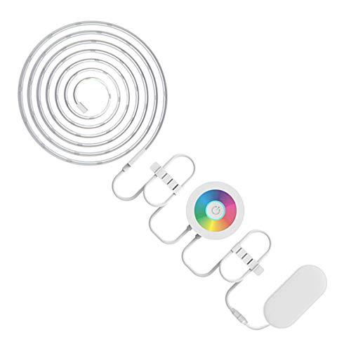 EFGS Éclairage Flexible WiFi Smart LED Light Strip Compatible avec Alexa,2M