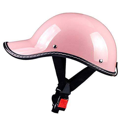 Casco bici mujer Retro en rosa