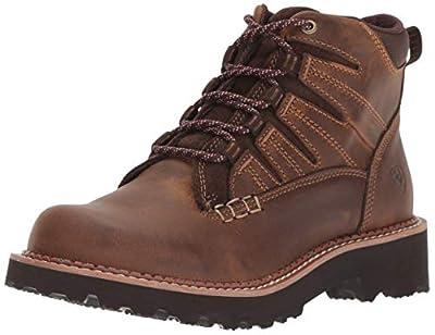 Ariat Women's Canyon II Hiking Shoe, Distressed Brown, 9 B US