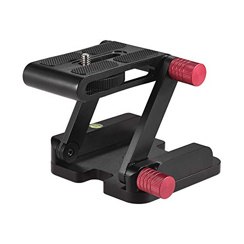Andoer Z Type Tilt Head Tripod Ball Aluminum Alloy Camera Bracket with 1/4 Inch Screw Folding Quick Release Plate Stand Holder for Canon Nikon Sony DSLR Camcorder Tripod Slider Rail Stabilizer