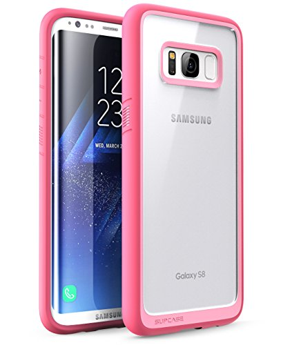 SUPCASE Unicorn Beetle Style Case Designed for Galaxy S8, Premium Hybrid Protective Clear Case for Galaxy S8 2017 Release (Pink)