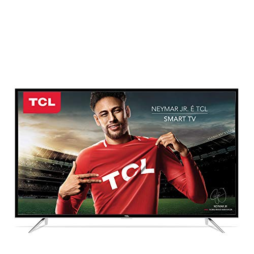Smart TV LED 43' Full HD, TCL L43S4900FS, Preta