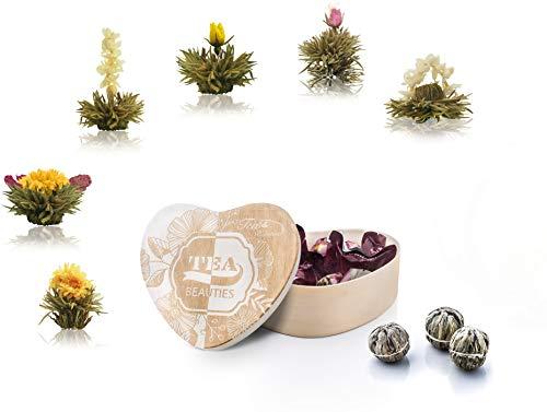 Creano Thé Floraison, Fleurs de thé...