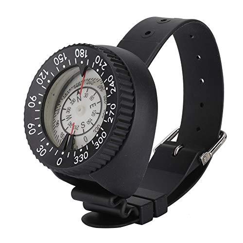 Tbest Brújula de Buceo,Brújula de Muñeca de Visión Nocturna Impermeable Brújula de Agua Brújula de Reloj de Pulsera Hemisferio Sur y Pulsera para Submarinismo