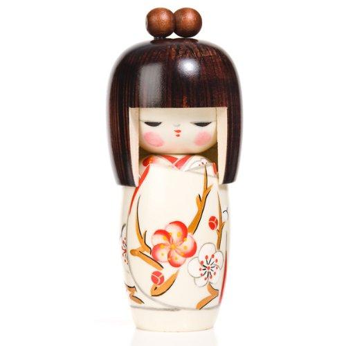 Muñeca Kokeshi japonesa auténtica sueño de primavera