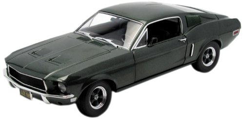 Greenlight Collectibles - 12822 - Véhicule Miniature - Ford Mustang GT 390 Bullit - Steve Mc - Queen - Echelle 1/18