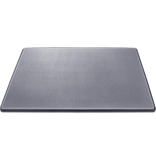 Anti Fatigue Mat Kitchen Cushioned Waterproof Kitchen Floor Mat Comfort Non Slip Standing Rug 18' (W) x 30'(L),Grey