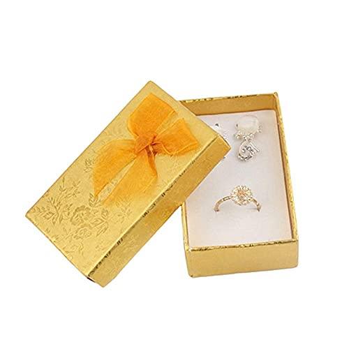 SMEJS Cajas de joyería Cajas de regalo para regalos Caja de regalo de joyería Estuche de joyería Caja de collar multifunción Caja de anillo Caja de joyería de gran capacidad Almacenamiento de are