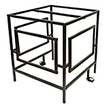 AC Guard ACGU Security Cage Kit W 2 Locks and Extra Bar, Black