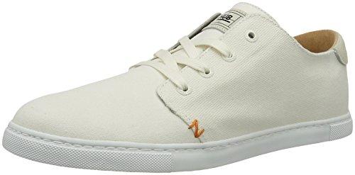 Hub Herren Ashbury 6/16 Low-Top, Weiß (Tennis White), 44 EU