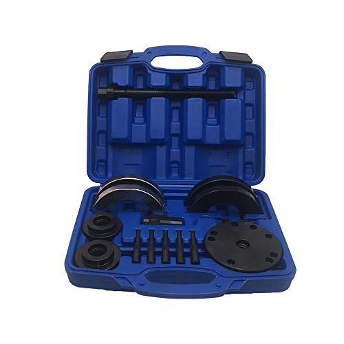 Kfz-Dog - Radlager Abzieher Werkzeug | 72 MM | Montage Werkzeug | KFZ Werkzeug | Radlagerabzieher | Radlagerwerkzeuge | mit Kunststoff Koffer | Radnabenabzieher | Radnabe Montage