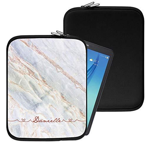 Personalisiert Marmor Neopren Tablethülle Case Tasche (94) für Huawei Mediapad X1 (7