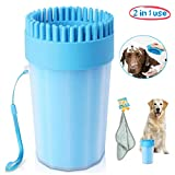 Upgrade Dog Paw Cleaner Dog Cleaner Portable with Towel Dog Cleaning...